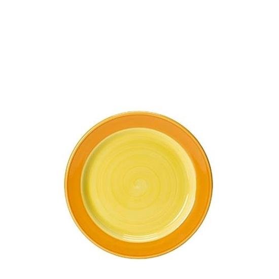 Freedom Yellow 15.75cm Slimline Plate