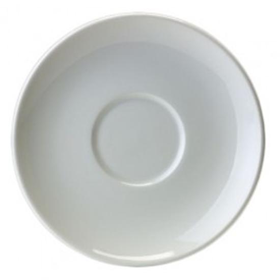 """Liv White 5"""" Saucer"""