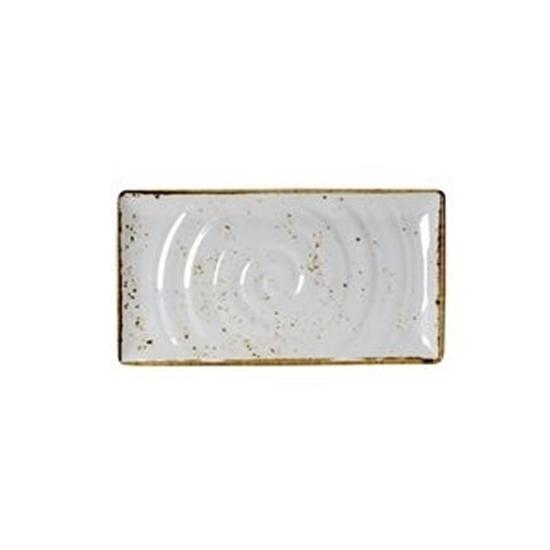 Craft White GN 1/3 Rect Platter 325 x 176mm