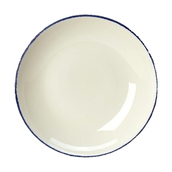 "Steelite Dapple Blue Bowl Coupe 21.5cm 8 1/2"""