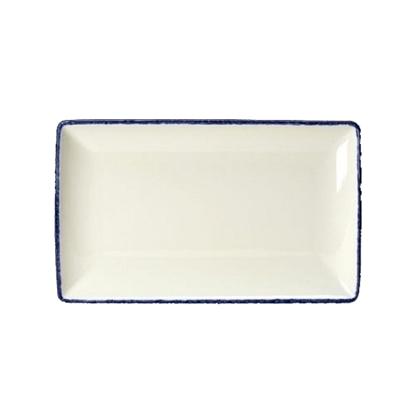 Blue Dapple Rectangle One 27 x 16.75cm
