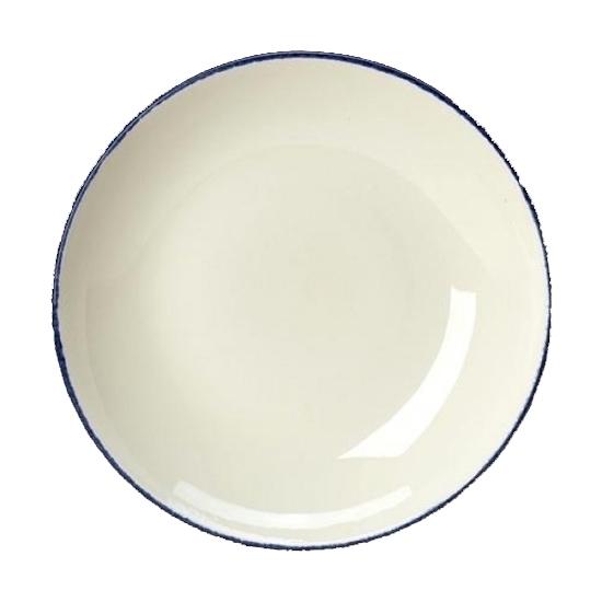 "Steelite Dapple Blue Bowl Coupe 30cm 11 3/4"""