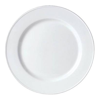 "Simplicity White Slimline Plate 10.5/8"""