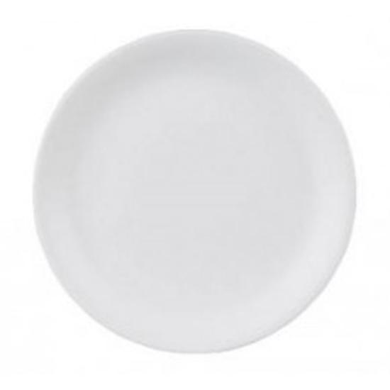 Taste White Coupe Plate 23cm