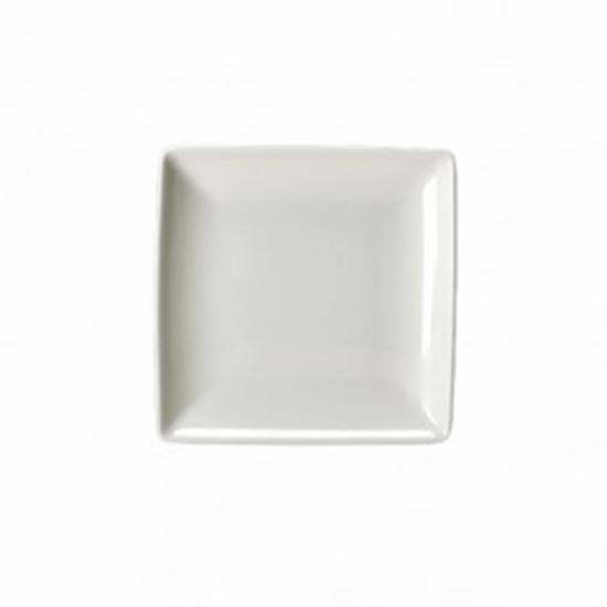 "Taste White Square Dish 6.5"" X 6.5"""