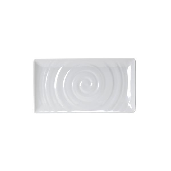 Spiral White GN 1/3 Rect Platter 325X176mm