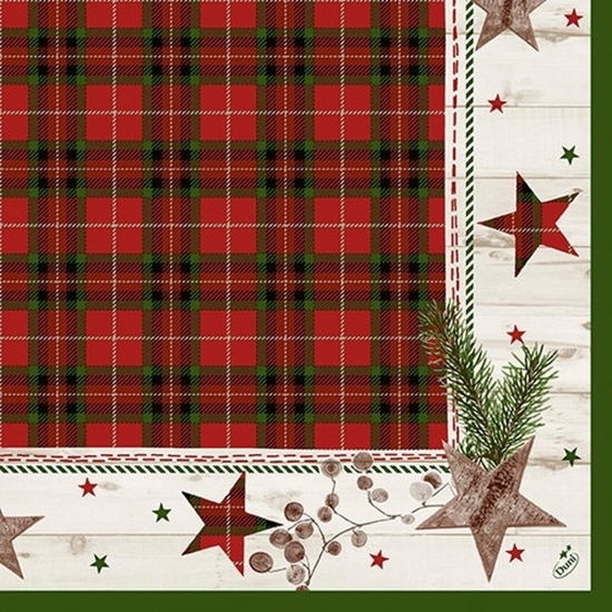 Naturally Christmas Napkins 3-Ply