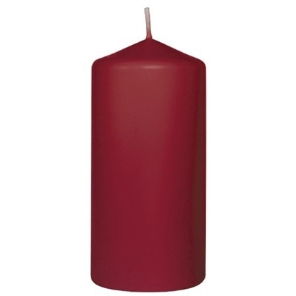 Picture of Bordeaux Pillar Candle