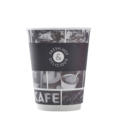16oz Double Wall Hot Cups