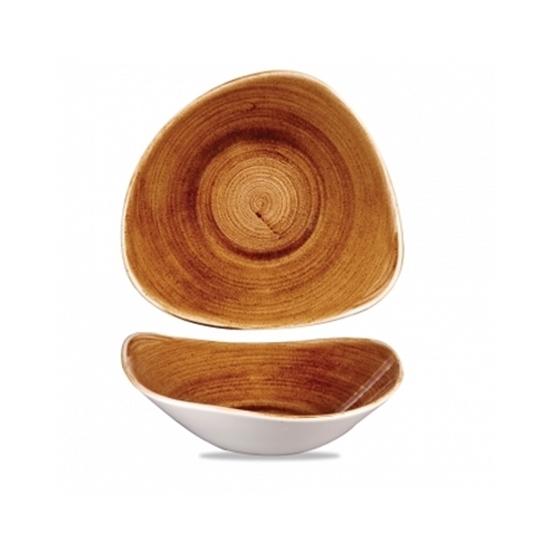 Churchill Stonecast Patina Lotus Bowl