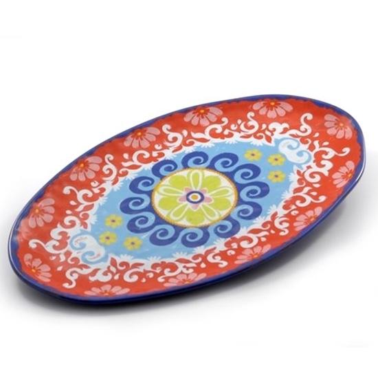 Nador Melamine Oval Platter