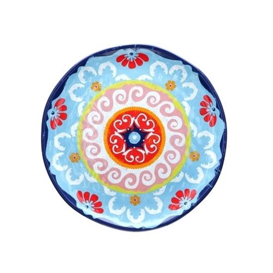 Blue Round Platter 32cm