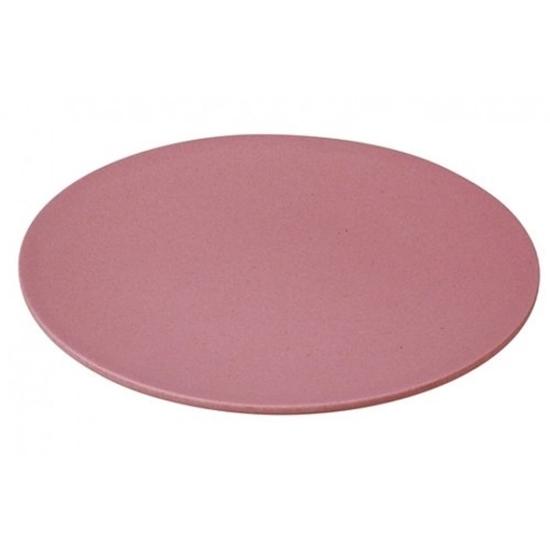 Large Buffet Plate - Lollipop Pink