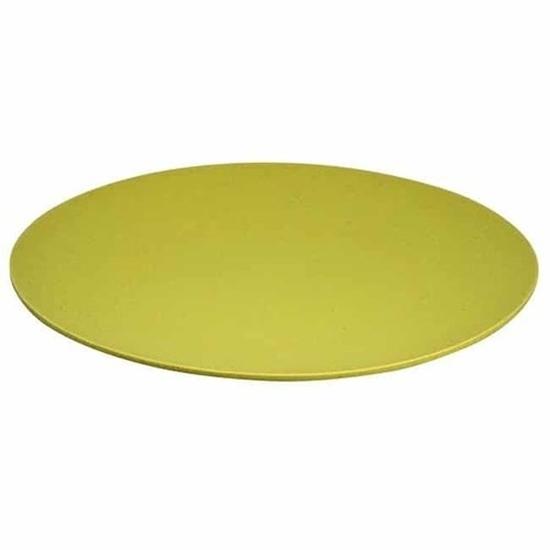ZUPERZOZIAL Large Buffet Plate - Yellow 35.5cm