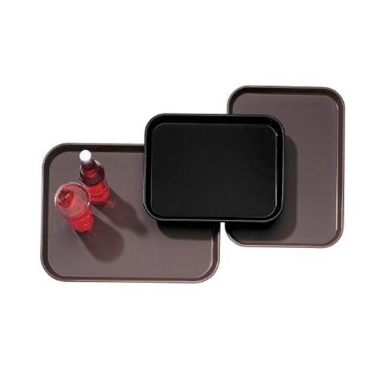 12 x 16cm Rectangular-Black Tray