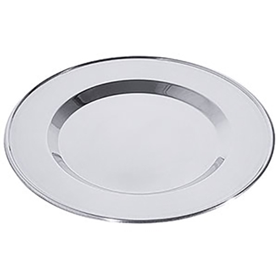 Stainless Steal Service Plate