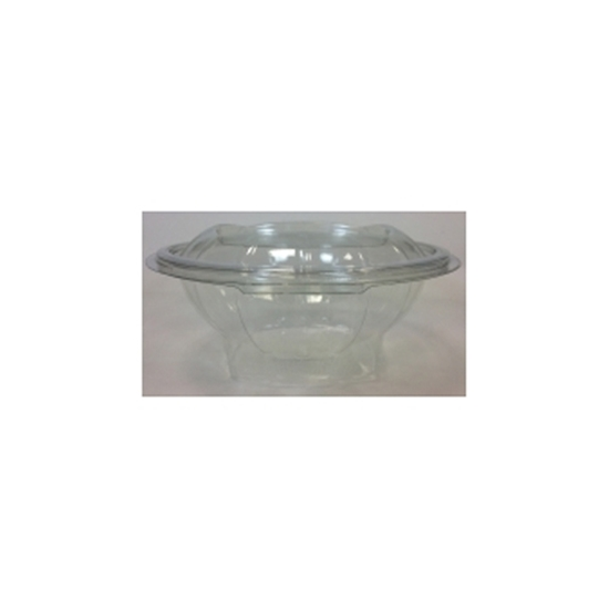 Round Hinged Salad Container