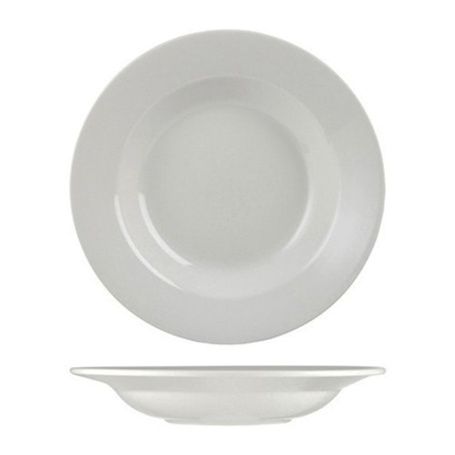 Churchill Alchemy White Round Pasta Bowl