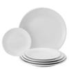 """Apollo White Coupe Plate 7"""""""