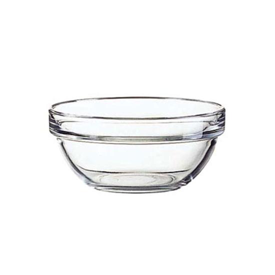 "Glass Salad Bowl 3"""
