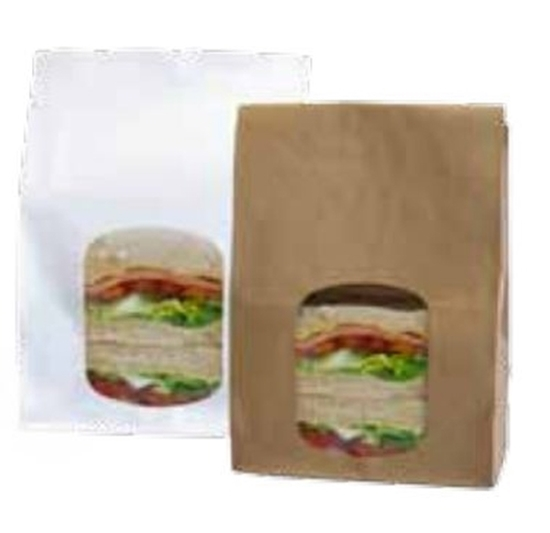 White Paper Carrier Bag