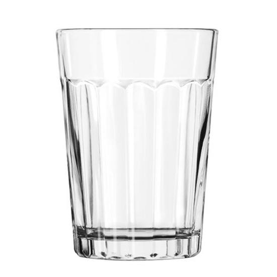 Paneled Coffee/Juice Glass