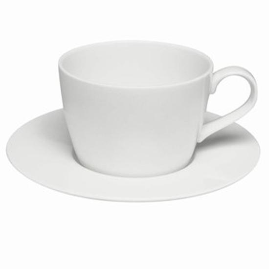 250ml White Teacup