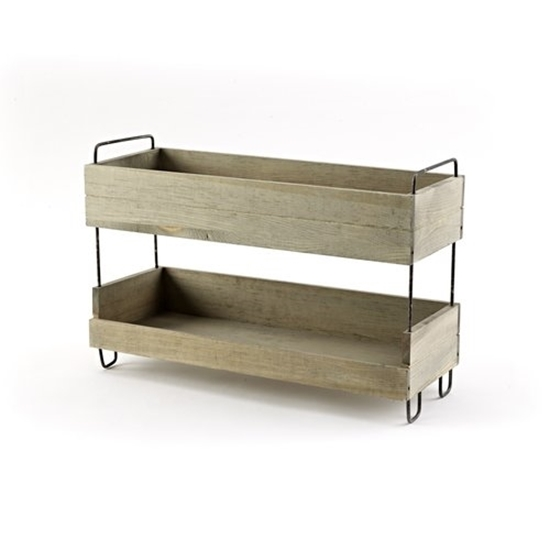 2-Tiered Display Stand