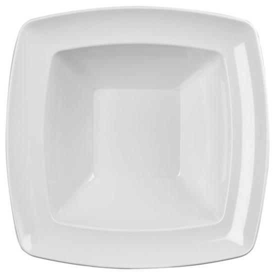 White Energy Square Bowl