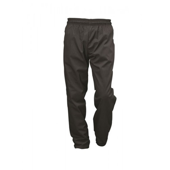 Black Baggie Chef Trousers (S)