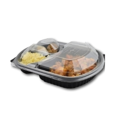 Picture of Microwaveable Container - 3 Compartment 36oz