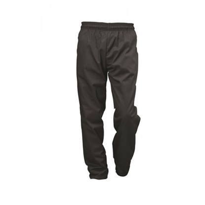 Picture of Black Baggie  Chef Trousers (L)