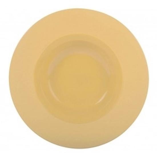 Terra Round Shallow Bowl Wide Rim 23cm