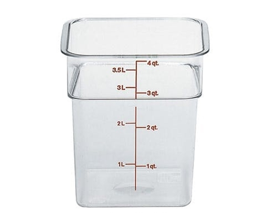 3.8l food container