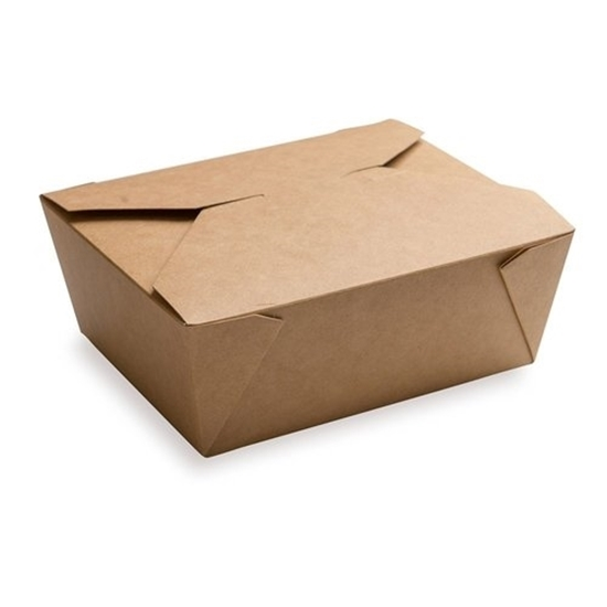 Brown Board Meal Box