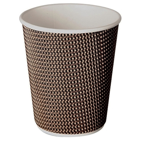 8oz Aroma Cup, Beige / Brown