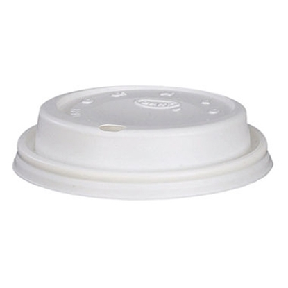 Picture of White 8oz Hot Cup Lid