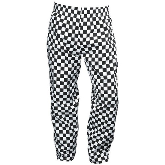 Medium Check Chef Trousers