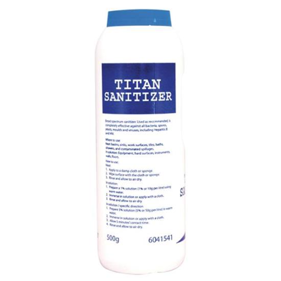 Titan Sanitiser Powder 12X500G