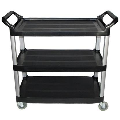 Large Black Utility Cart