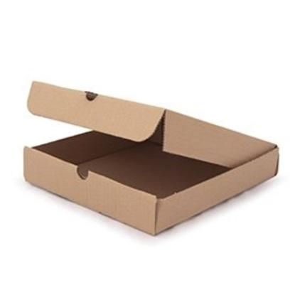 "9"" Plain Brown Pizza Box"