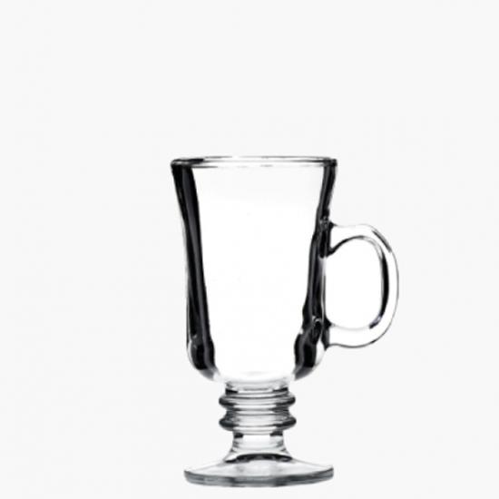 Handled Liquor Coffee Glass 8oz