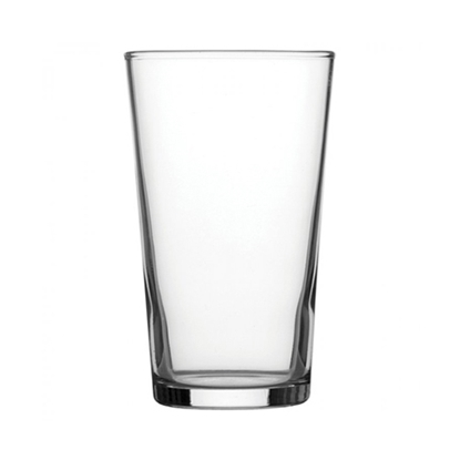 10 oz Toughened Conical Glass
