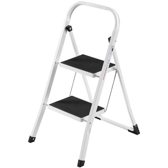 Stainless Steel 2 Step Ladder