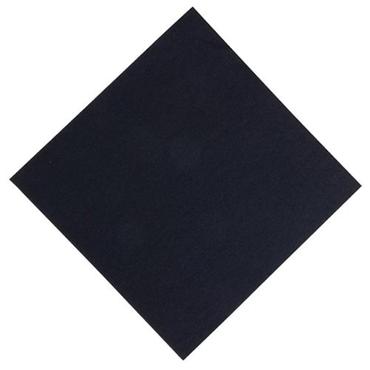 Napkins 2-Ply 8 Fold Black