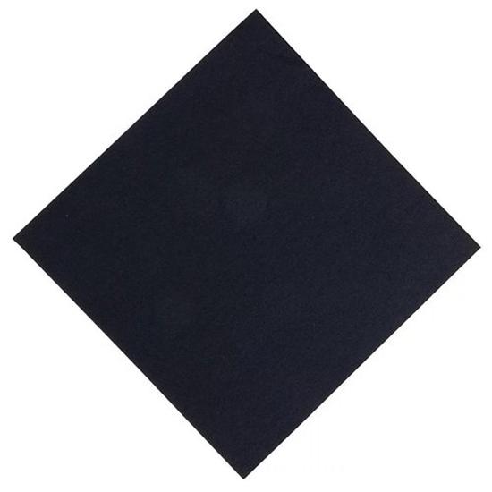 Napkins 2-Ply 8 Fold Black