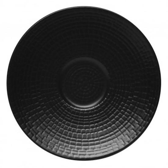 Modulo Black Coffee Saucer