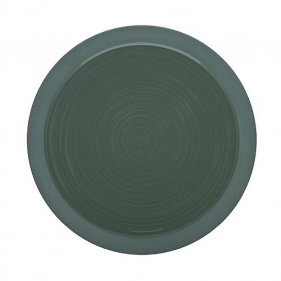 Bahia Round Plate - Green 26cm