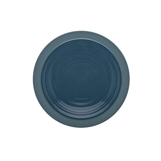 Bahia Round Plate - Blue 23cm