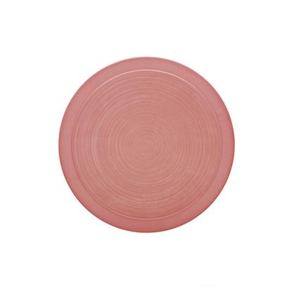 Bahia Round Plate - Pink 23cm